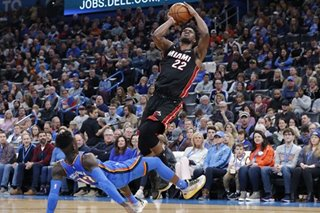 NBA: Hot start carries Heat past Thunder