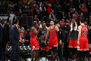 NBA: LaVine pours in 42 to lead Bulls defeat Cavaliers