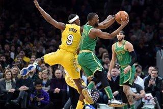 NBA: Tatum scores 27 as Celtics upset Lakers