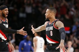NBA: Lillard's franchise-best 61 leads Blazers past Warriors in OT