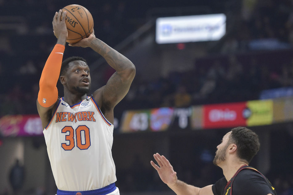 NBA: Knicks defeat struggling Cavaliers