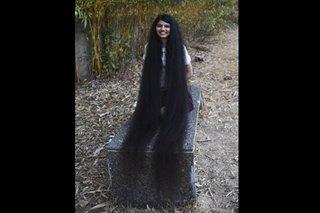 Tangled, too: Indian 'Rapunzel' has world's longest teen hair
