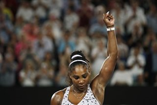 Tennis: Serena into third round in Melbourne after testy win over Slovenian