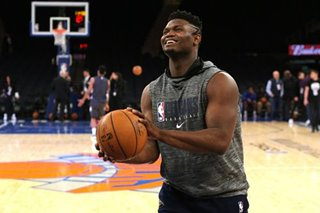 NBA: Zion in spotlight as Pelicans host Spurs