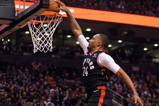 NBA: Raptors continue home dominance of 76ers