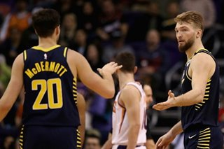 NBA: Pacers never trail in win over Suns