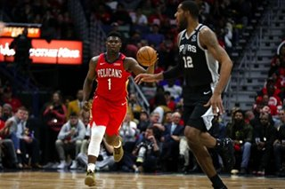 NBA: Zion shines in debut, but Spurs stop Pelicans