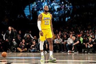 NBA: LeBron has triple-double as Lakers dump Nets