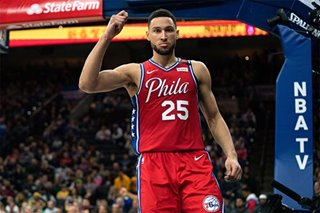 NBA: Simmons dominates as 76ers top Lakers