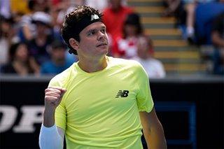 Tennis: Raonic blasts Cilic off court to make Aussie Open quarters
