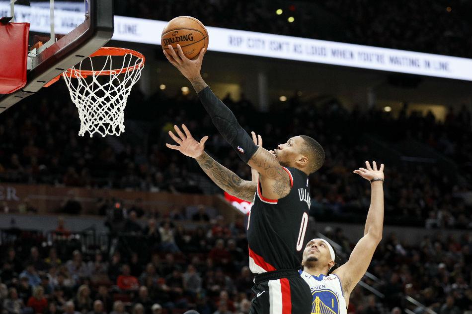 NBA: Blazers' Lillard aims to continue torrid run vs. Pacers