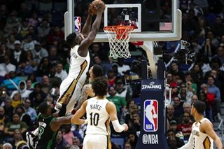 NBA: Pelicans get 1st W with Zion as rookie notches double-double