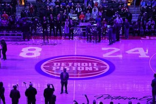 NBA: Pistons honor Bryant before game with custom jerseys