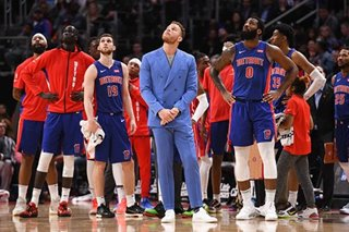 NBA: Pistons, Drummond surprise Nuggets in OT