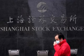 Shanghai stocks dive in first New Year session, other markets mixed