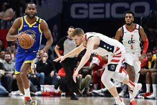 NBA: Burks scores 30 as Warriors edge Wizards