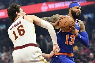 NBA: Morris, Knicks top Cavs in overtime