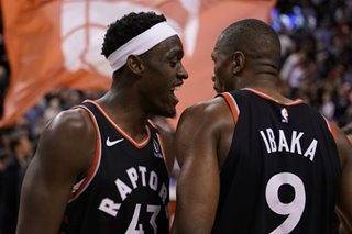 NBA: Raptors rally past Pacers for record 12th straight win