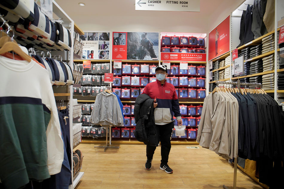 Uniqlo shuts around half of its China stores due to coronavirus
