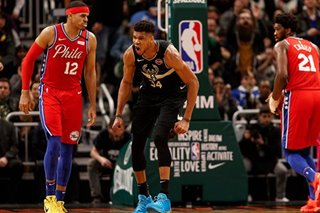 NBA: Bucks, Antetokounmpo avenge earlier loss to 76ers