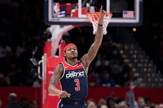 NBA: Beal's last-second layup lifts Wizards over Mavs