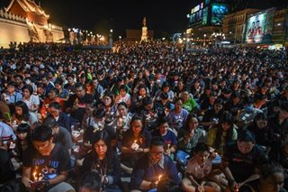 Praying for Thailand mall shooting victims