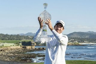 Golf: Canadian Taylor outplays Mickelson to win at Pebble Beach