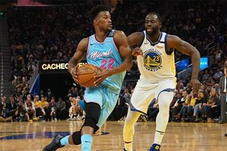 NBA: Miami uses flurry of 3s to shoot down Warriors