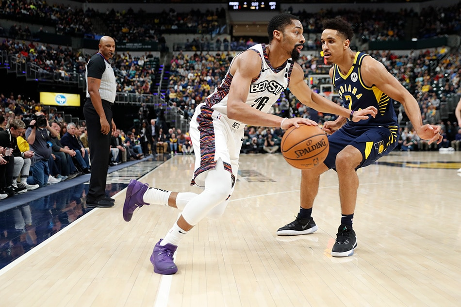 NBA: Dinwiddie's winning shot lifts Nets over Pacers