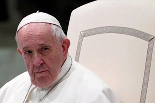 Pope Francis prays for COVID-19 victims