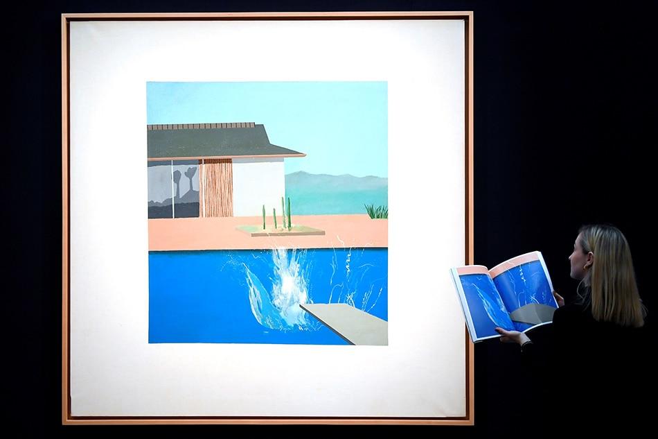 David Hockney's 'The Splash' sells for $29.9 million in London