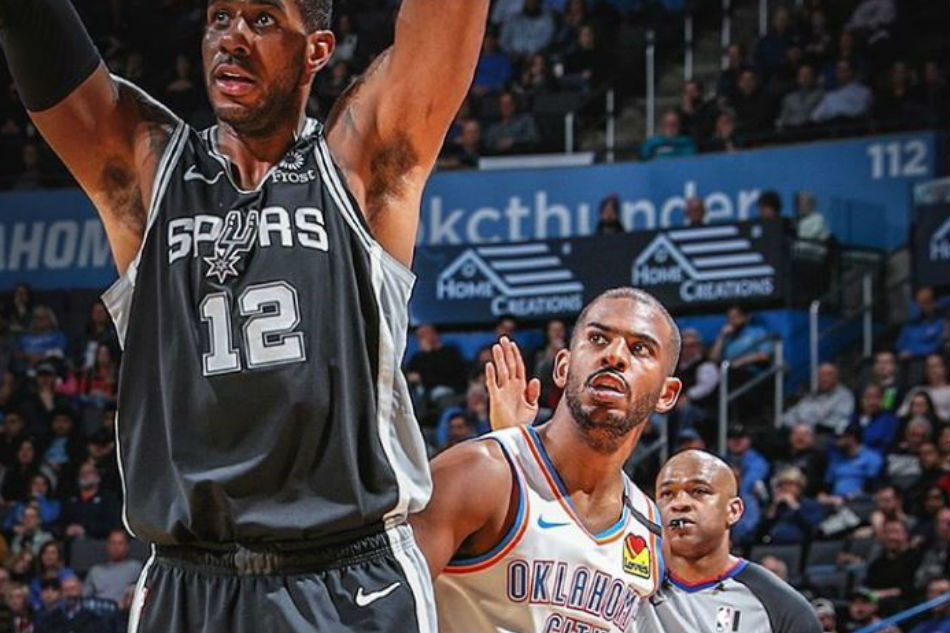 NBA: Spurs hold on, down Thunder