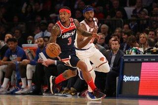 NBA: Hot-shooting Beal lifts Wizards past Knicks