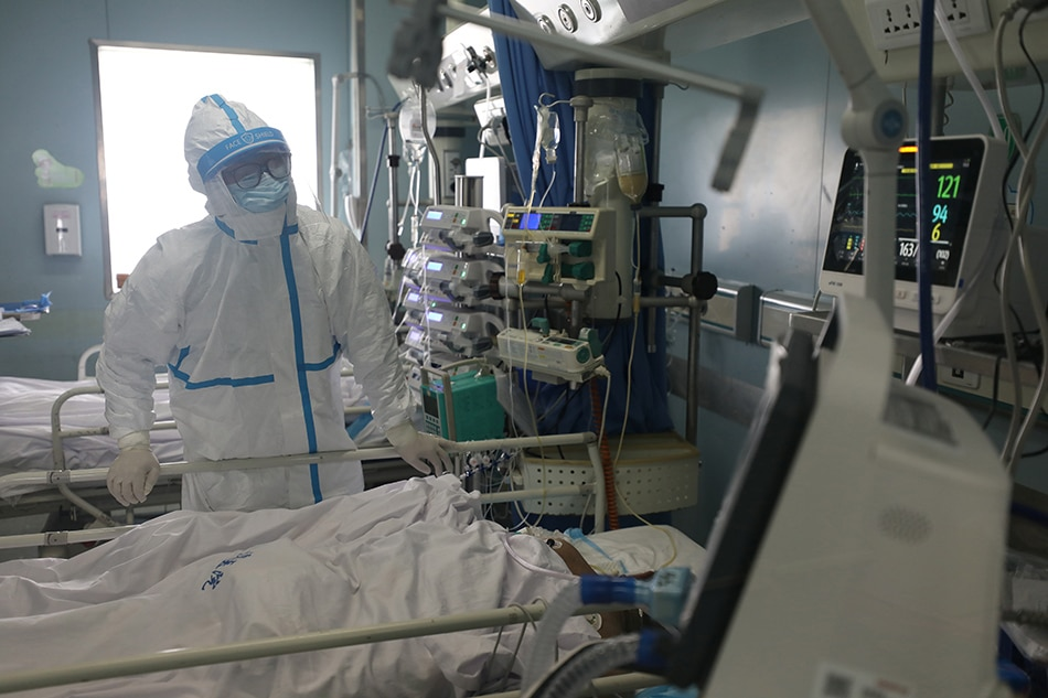 China reports 142 new deaths from coronavirus on mainland on Feb 15