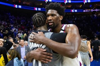 NBA: Embiid rescues 76ers in OT win over Nets
