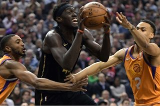 NBA: Raptors win 16th in last 17 by dispatching Suns