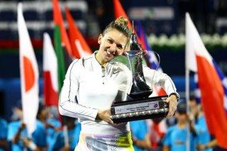 Tennis: Halep claims 20th career title with Dubai triumph