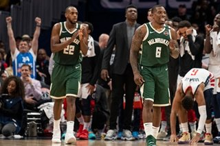 NBA: Bucks top Wizards in OT despite Beal's 55 points
