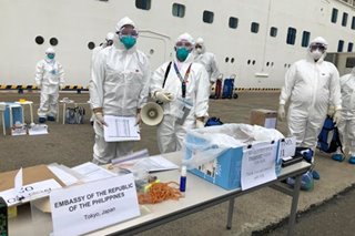 Some 400 Filipinos aboard virus-hit Japan ship to return home: DOH