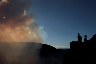 'I could fall to my death:' Tightrope walker prepares to cross active volcano