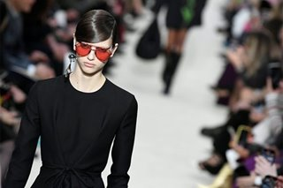 Valentino goes back to black at Paris Fashion Week
