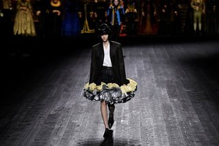Louis Vuitton's clash of styles wraps up Paris Fashion Week