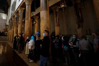 Church in Jesus' birthplace to close after suspected coronavirus cases