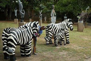 Zimbabwean artist's dynamic stone sculptures find global acclaim