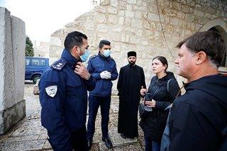 Bethlehem under lockdown after virus cases confirmed