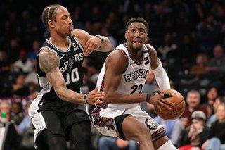NBA: LeVert's triple-double leads Nets past Spurs