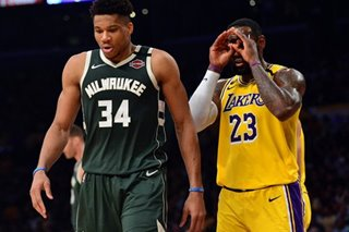 NBA: James, Lakers look their best in beating Bucks