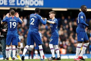 Football: Chelsea crush Everton to cement top 4 place