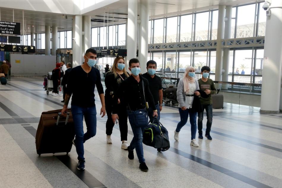 Lebanon suspends flights after second coronavirus death 1