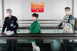 China regulator says total air passengers fell 84.5 percent in February